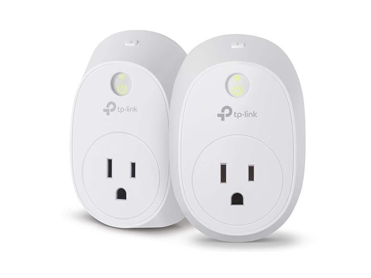 2-Pack TP-Link HS110 KIT Wi-Fi Smart Plug w/ Energy Monitoring $22.99 + Free Shipping via Newegg