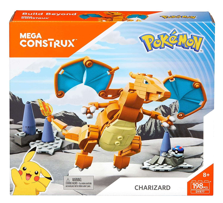 198-Piece Mega Construx Pokemon Charizard Set - Slickdeals net