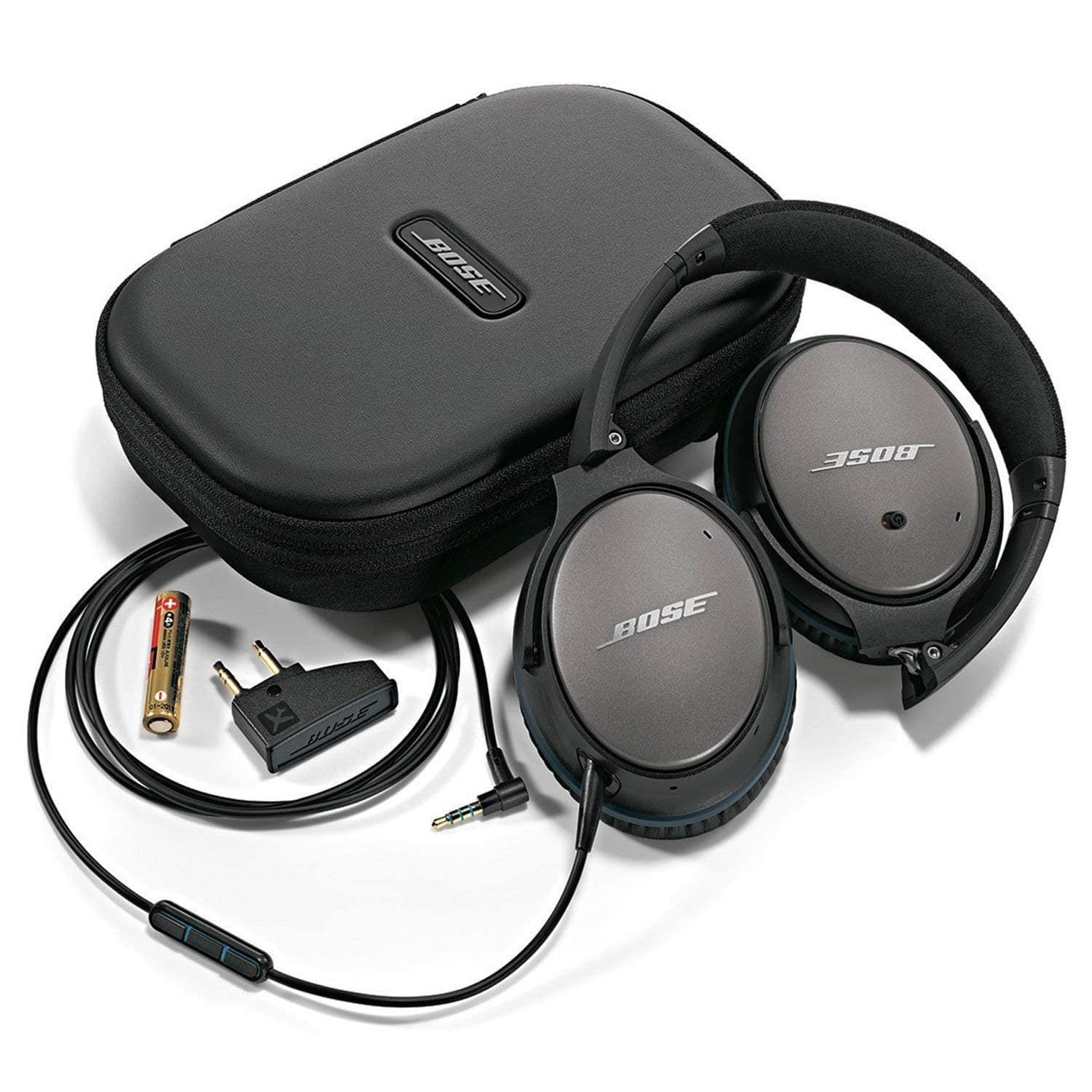 36979463ad6 Bose QuietComfort 25 Acoustic Noise Cancelling Wired Headphones ...