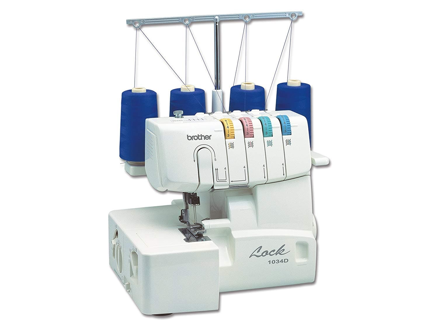 Brother 1034D 3/4 Thread Serger Sewing Machine w/ Differential Feed $132.99 + Free Shipping via Amazon