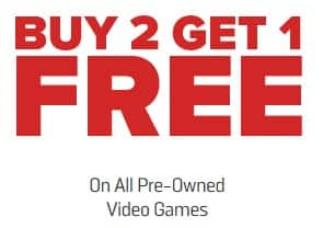 Pre-Owned Video Games: Nintendo Switch, PS4, Xbox One, 3DS