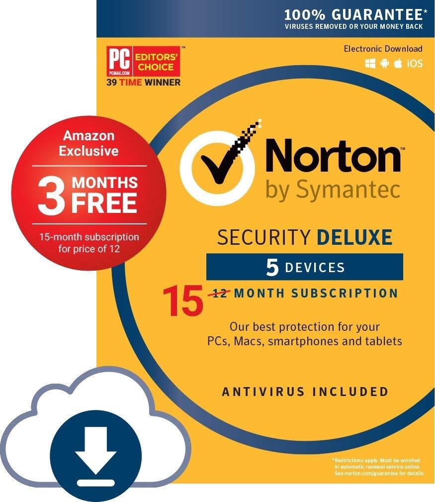 Norton Security Premium: 5-Devices/15-Month (Digital