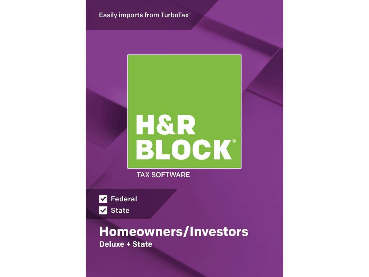 h r block 2018 tax software deluxe state digital download