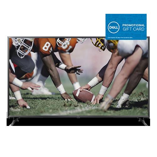 """LG 4K UHD HDR LED Smart TV + $100 Dell eGift Card: 65"""" LG 65UK6090PUA $599.99 or 49"""" LG 49UK6090PUA $349.99 + Free Shipping"""