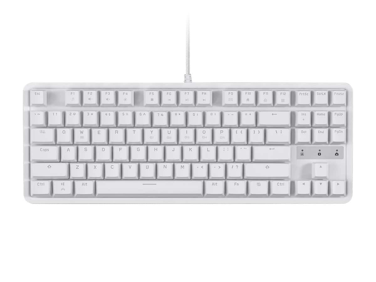 Workstream by Monoprice: Full-Size Mechanical Keyboard w/ Brown Switches $29.99 or Tenkeyless Mechanical Keyboard w/ Brown Switches (White) $27.99 + Free Shipping via Monoprice