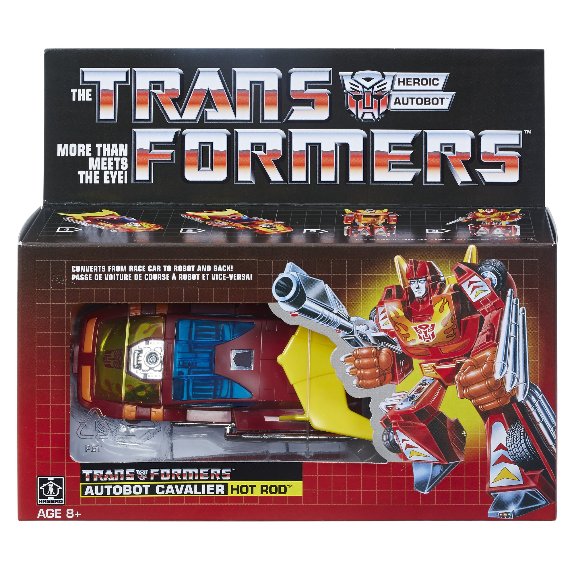 Select Walmart Stores: Transformers G1 Autobot Cavalier Hot Rod Toy