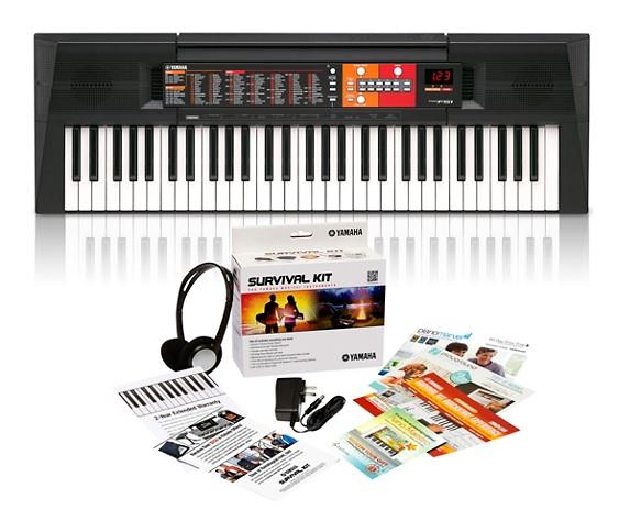 Yamaha 61-Key Portable Keyboard (PSR-F51HS ) w/ Yamaha Survival Kit A2 (Headphone, Power Adapter, Warranty & More) $79.99 + Free Shipping via Guitar Center