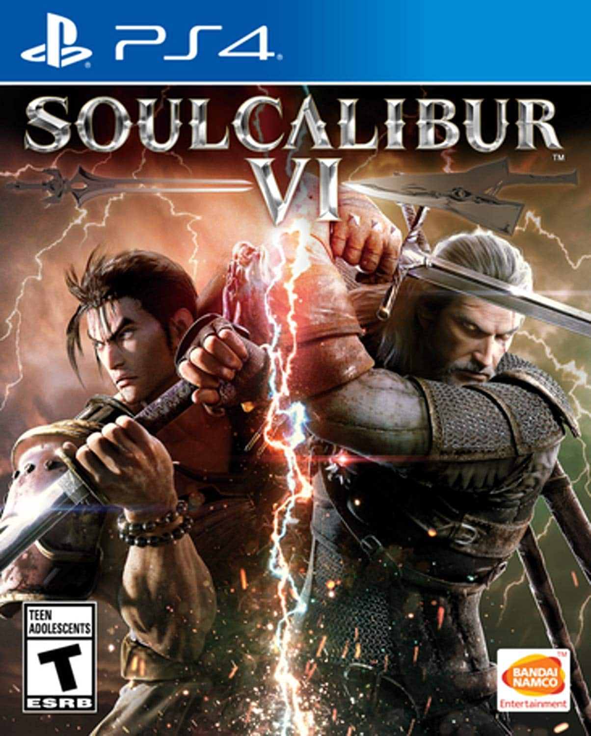 Soul Calibur VI (PS4 or Xbox One) $24.99 AC + Free Shipping via Newegg