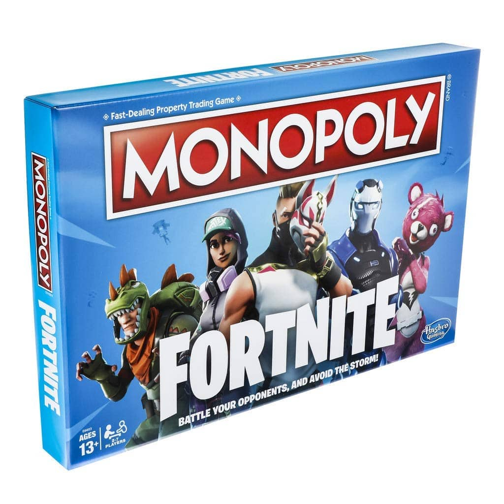 Hasbro Monopoly: Fortnite Edition Board Game $9.99 via Amazon