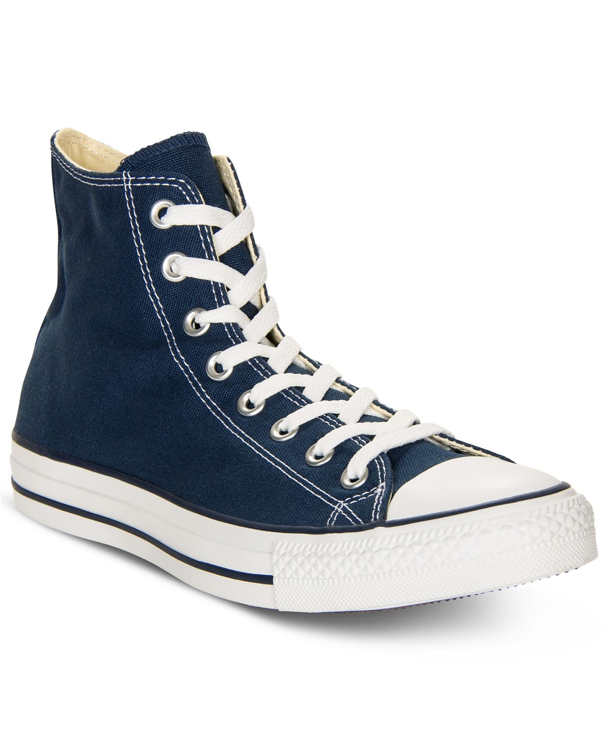 dccfab75999a Converse Men s Chuck Taylor High Top Sneakers (Blue) - Slickdeals.net