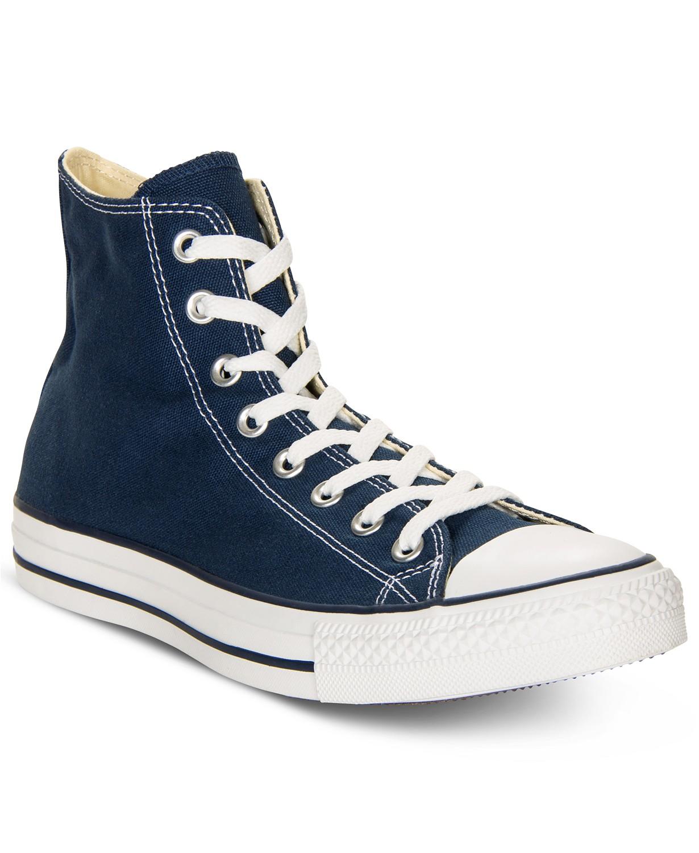 0581ee01dabb5e Converse Men s Chuck Taylor High Top Sneakers (Blue) - Slickdeals.net