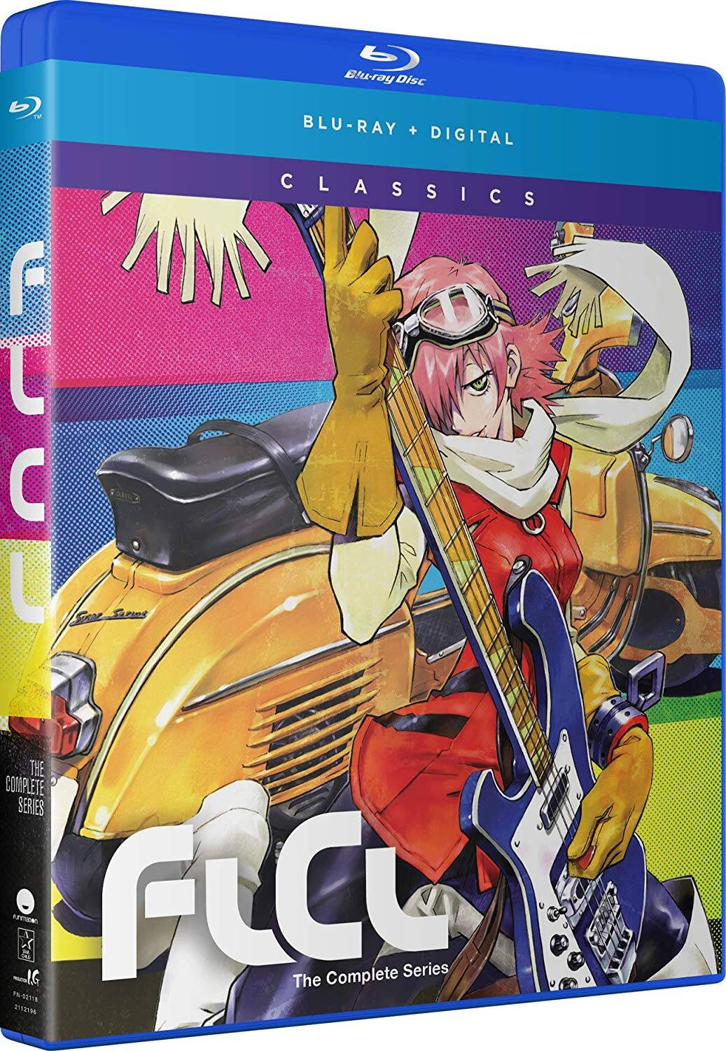 FLCL: The Complete Series (Blu-Ray + Digital HD) $25.99 + Free Shipping via Amazon