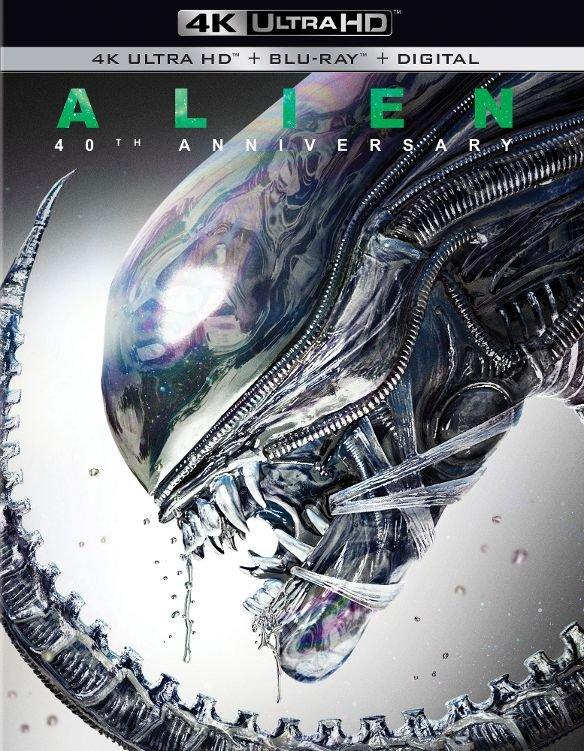 Alien: 40th Anniversary Pre-Order (4K Ultra HD + Blu-ray + Digital HD) $14.96 via Amazon