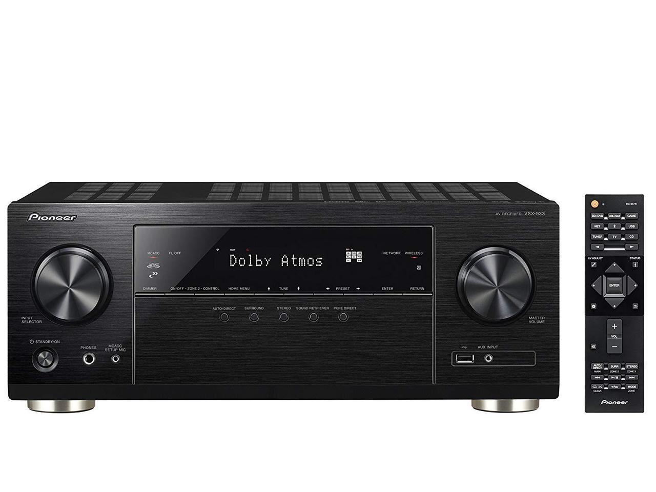 Pioneer VSX-933 7 2-Channel A/V Receiver - Slickdeals net