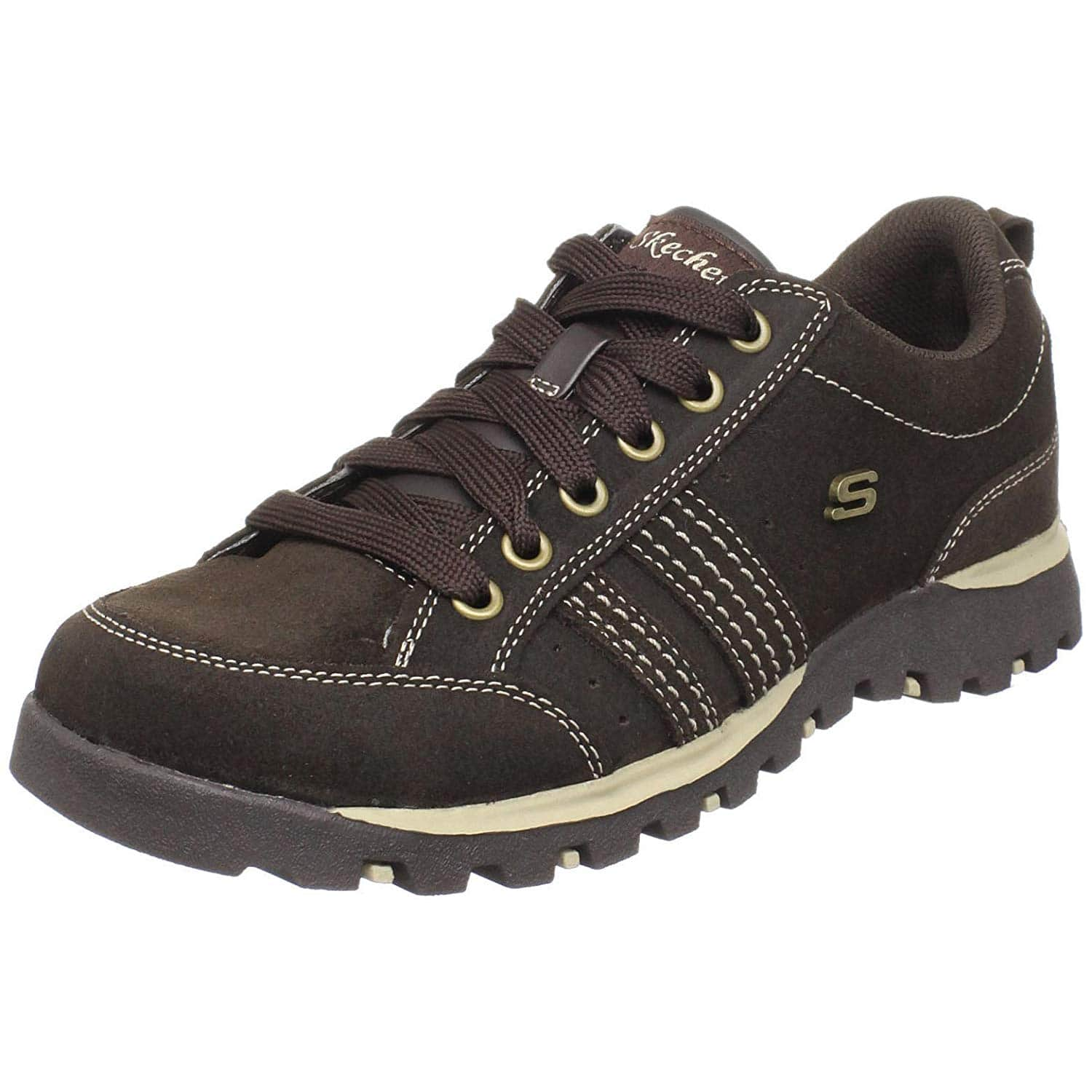 9e740250d0ea4 Women s Skechers Grand Jams Sneakers (Chocolate Suede) - Slickdeals.net