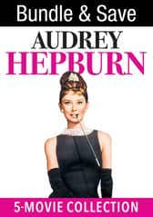 Audrey Hepburn 5-Movie Collection: Breakfast at Tiffany's, Roman Holiday, Sabrina, Paris When It Sizzles, & Funny Face (Digital HDX Films) $19.99 via VUDU