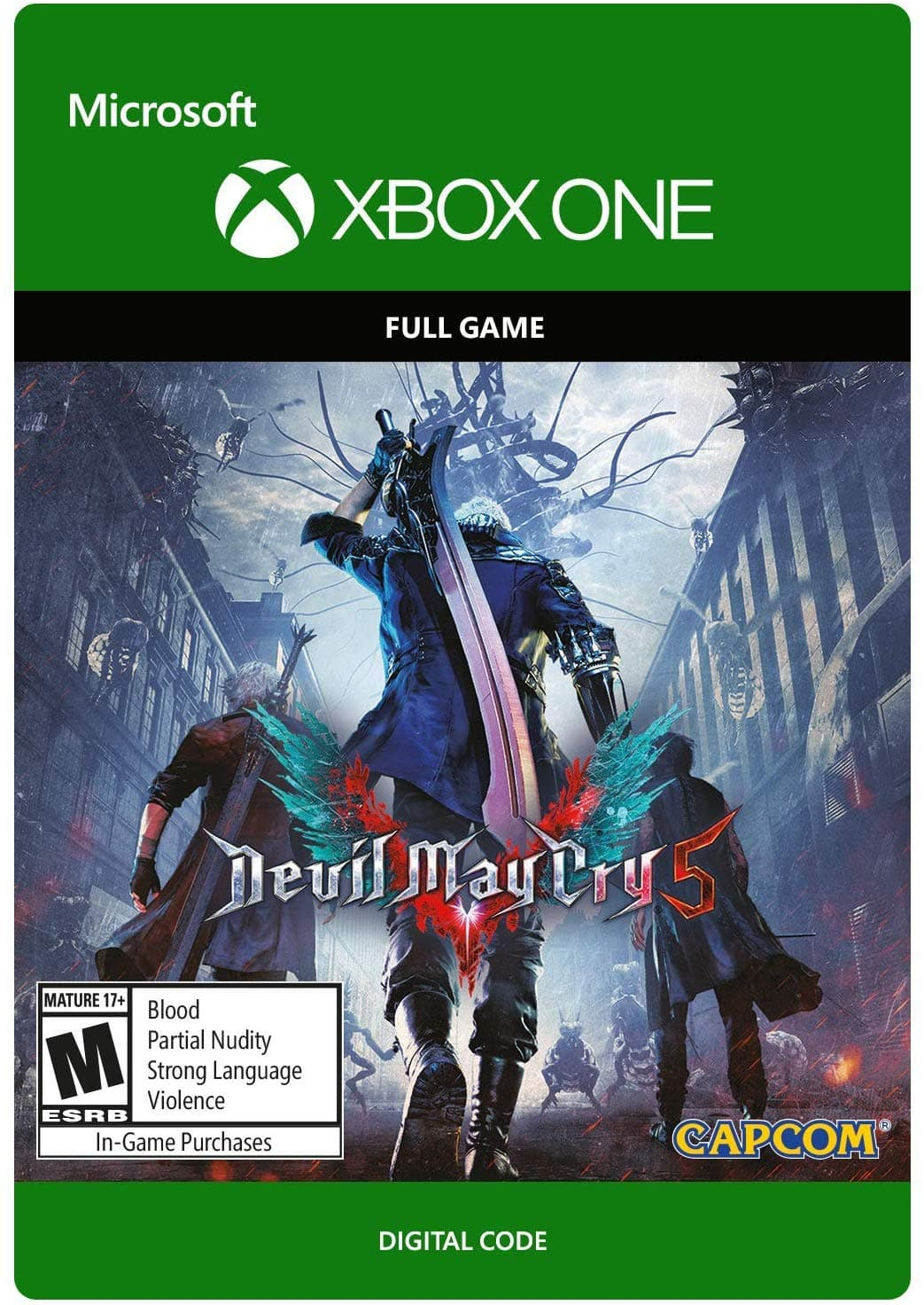 Devil May Cry 5 (Xbox One Digital Code) $40 19 via Amazon