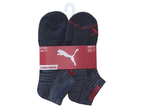18-Pairs of Men's PUMA 10-13 Low Cut Socks (Blue/Black) $19.99 + Free Shipping w/ Amazon Prime via Woot