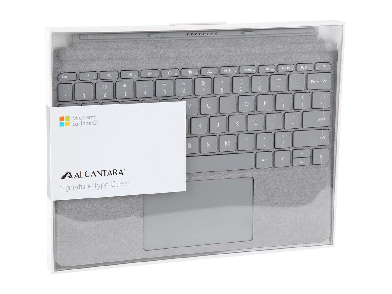 Microsoft Surface Go Signature Type Cover (Platinum) $64.99 + Free Shipping via Newegg