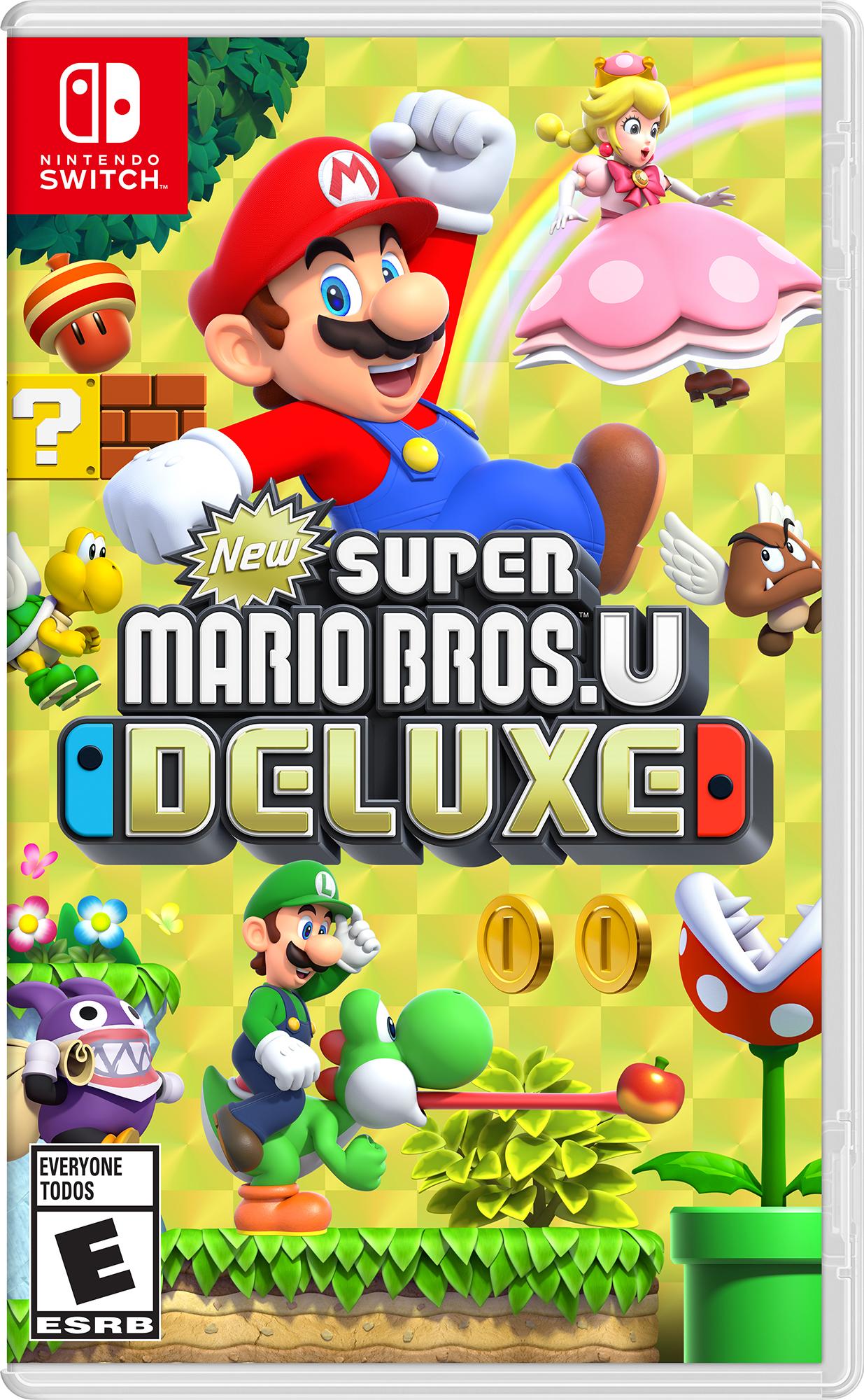 New Super Mario Bros U Deluxe (Nintendo Switch) $45 + Free Shipping via Walmart/Amazon