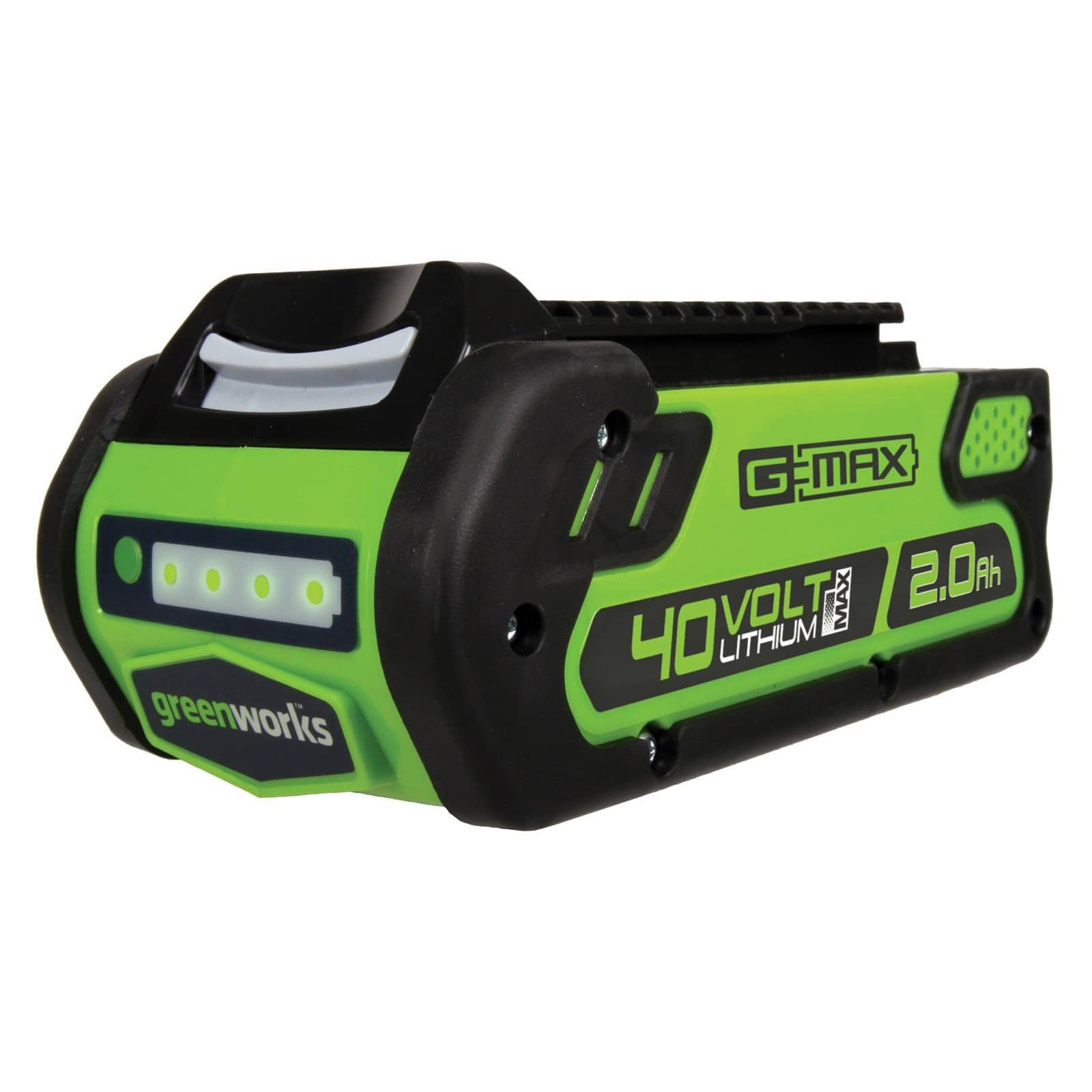 Greenworks Accessories/Tools: 40V 2.0 AH Lithium-Ion Battery $45, 40V 300W Cordless Power Inverter $30, 40V Lithium Ion Battery Charger $23 & More via Amazon