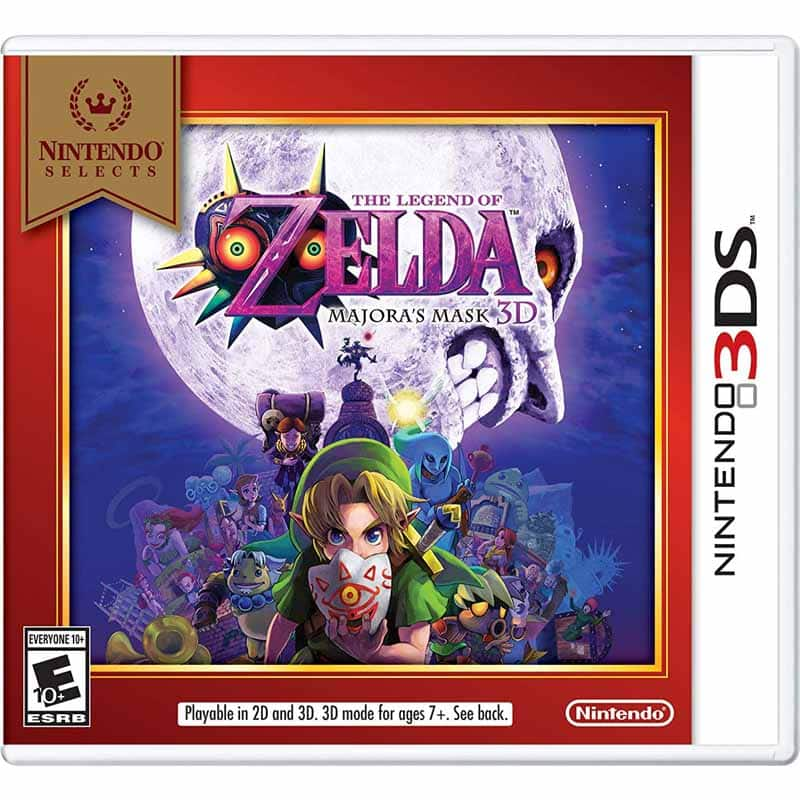 e16bf238f5 Nintendo Selects 3DS Games: The Legend of Zelda: Majora's Mask 3D, Ocarina  of