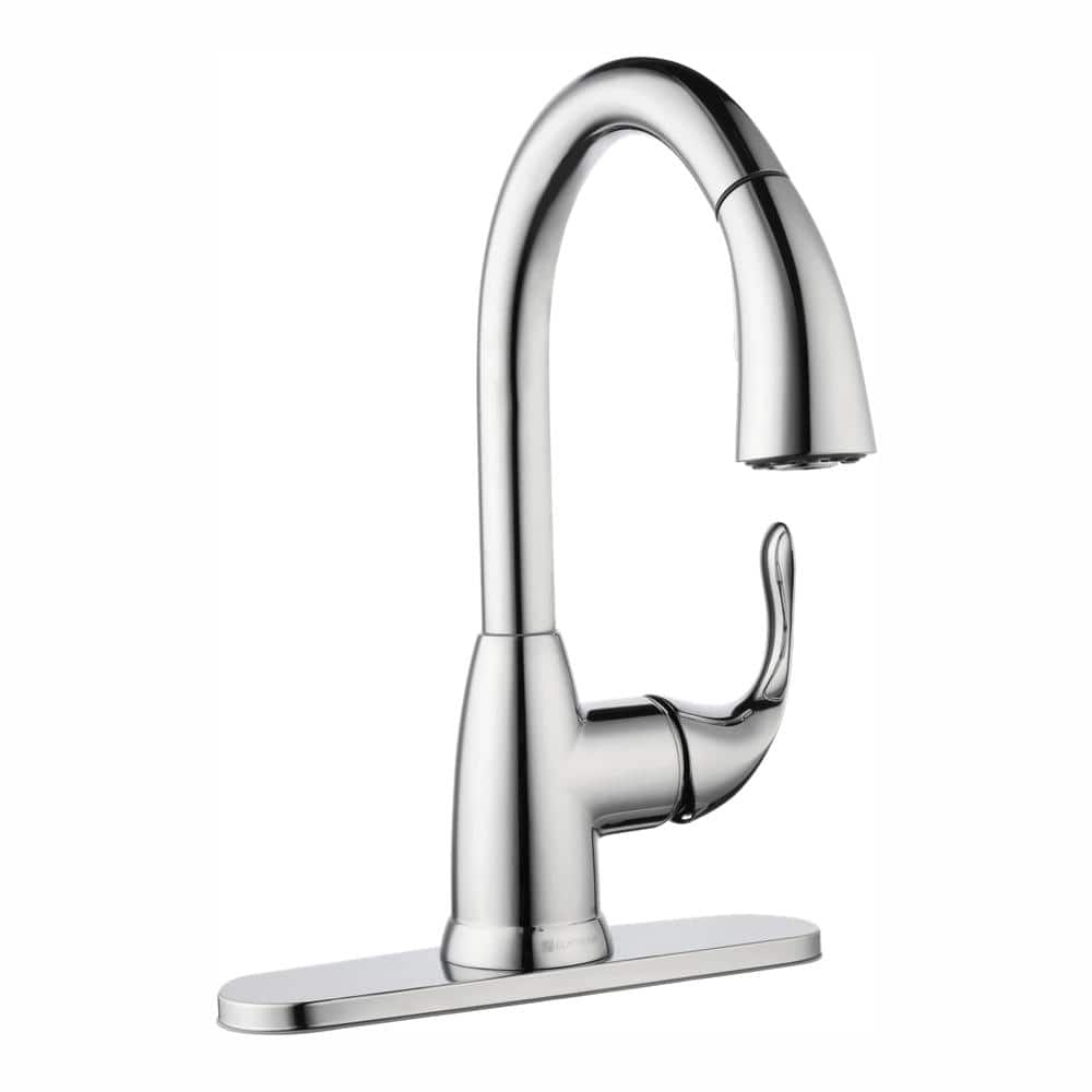 Glacier Bay Dylan Single Handle Pull Down Kitchen Faucet (various finish) from $47.88 + Free Shipping via Home Depot
