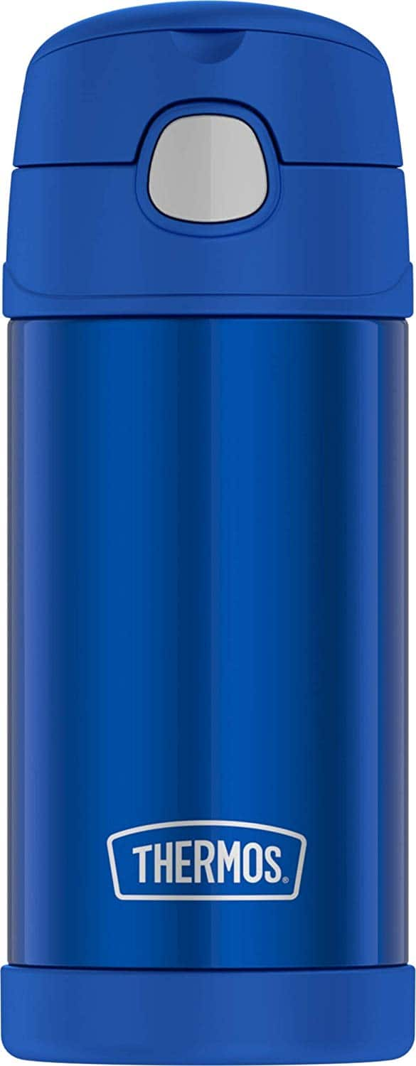 12oz. Thermos Funtainer Stainless Steel Bottle (Blue, Violet, or Teal) $9.99 & More via Amazon