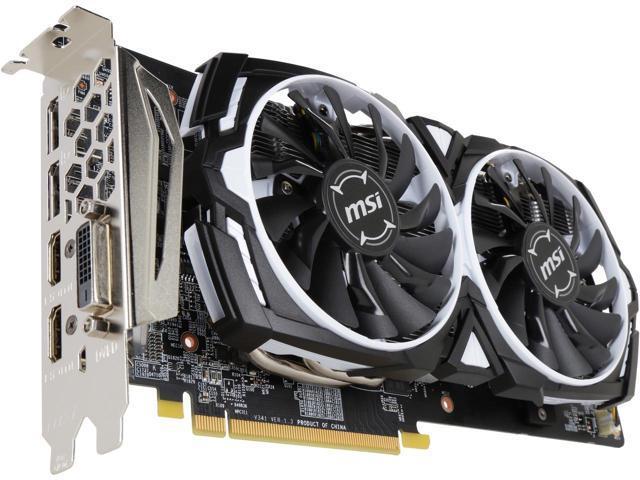 MSI Radeon RX 580 Armor OC 8GB GDDR5 Video Card + 3-Month Xbox Game Pass for PC $149.99 AR/AC + Free Shipping via Newegg