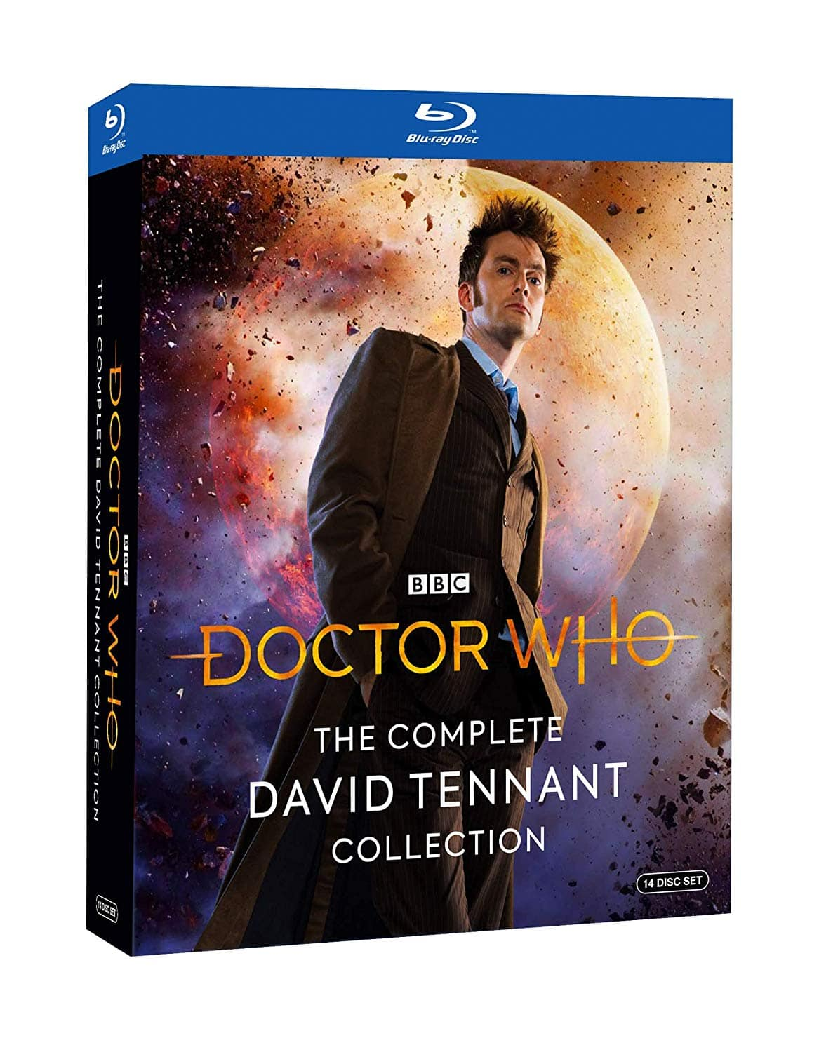 Dr. Who: The Complete David Tennant Collection Pre-Order (14-Disc Set Blu-Ray) $34.99 + Free Shipping via Amazon
