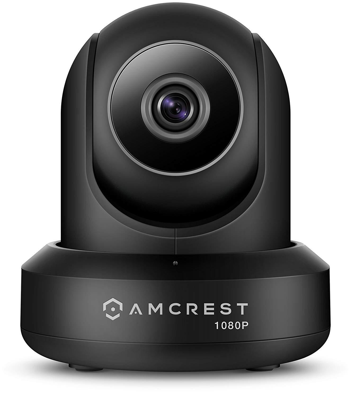 Amcrest 1080P WiFi Camera 2MP Indoor Pan/Tilt (Black) - $24 FS (lightning deal + code)