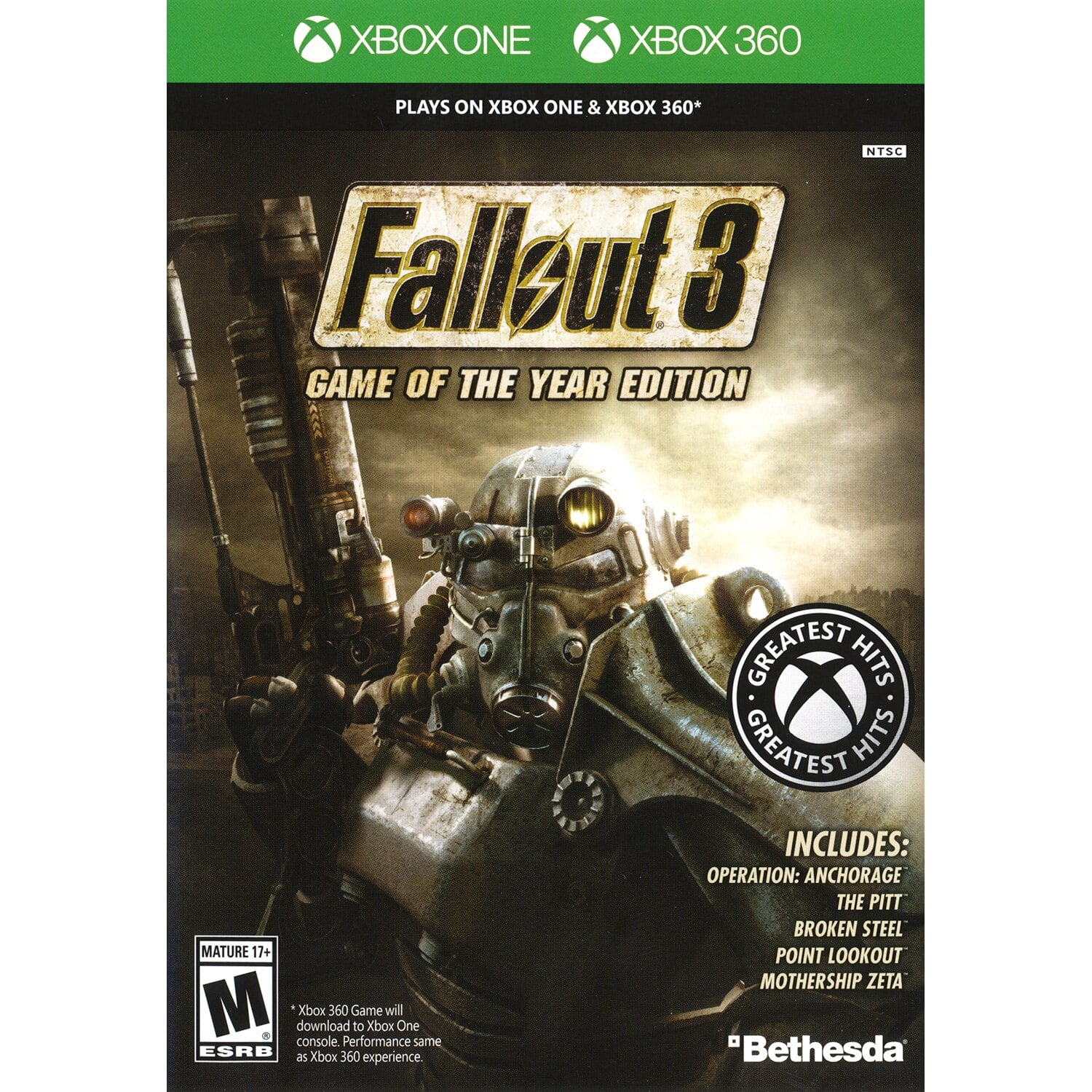 Fallout 3: Game of the Year Edition (Xbox One/360) $8 69 +