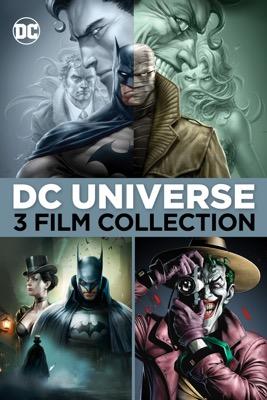 Batman Hush + Batman: Gotham by Gaslight + Batman: The Killing of Joke (Digital 4K UHD Films) $19.99 via Apple iTunes