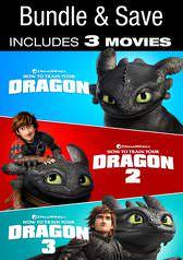 How To Train Your Dragon Trilogy Bundle (Digital 4K UHD Films) $24.99 via VUDU