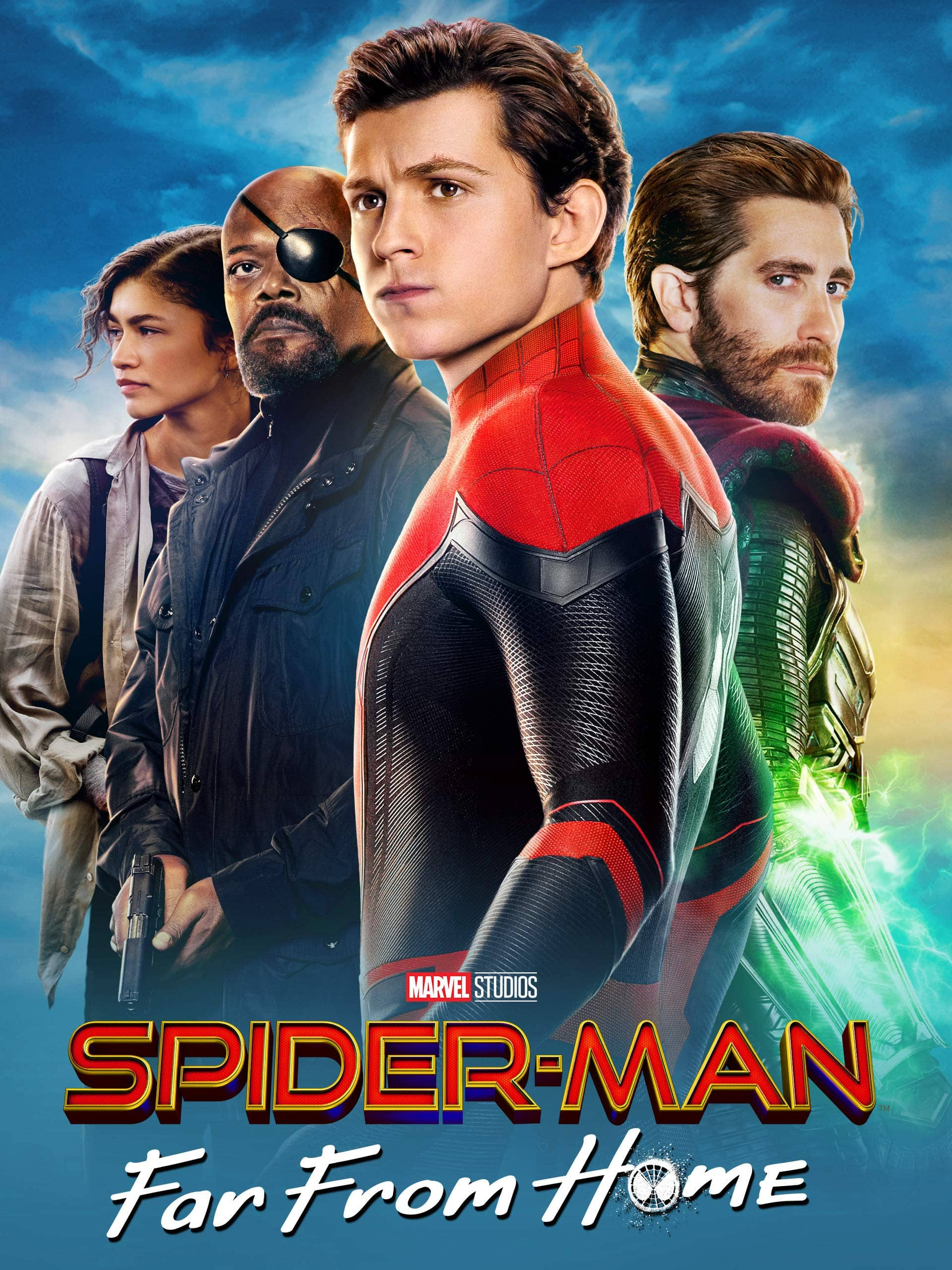 Digital HD Movie Rental: Spider-Man: Far From Home $3.99 or Spider-Man: Homecoming or Spider-Man: Into the Spider-Verse $1.99 w/ Amazon Prime Membership