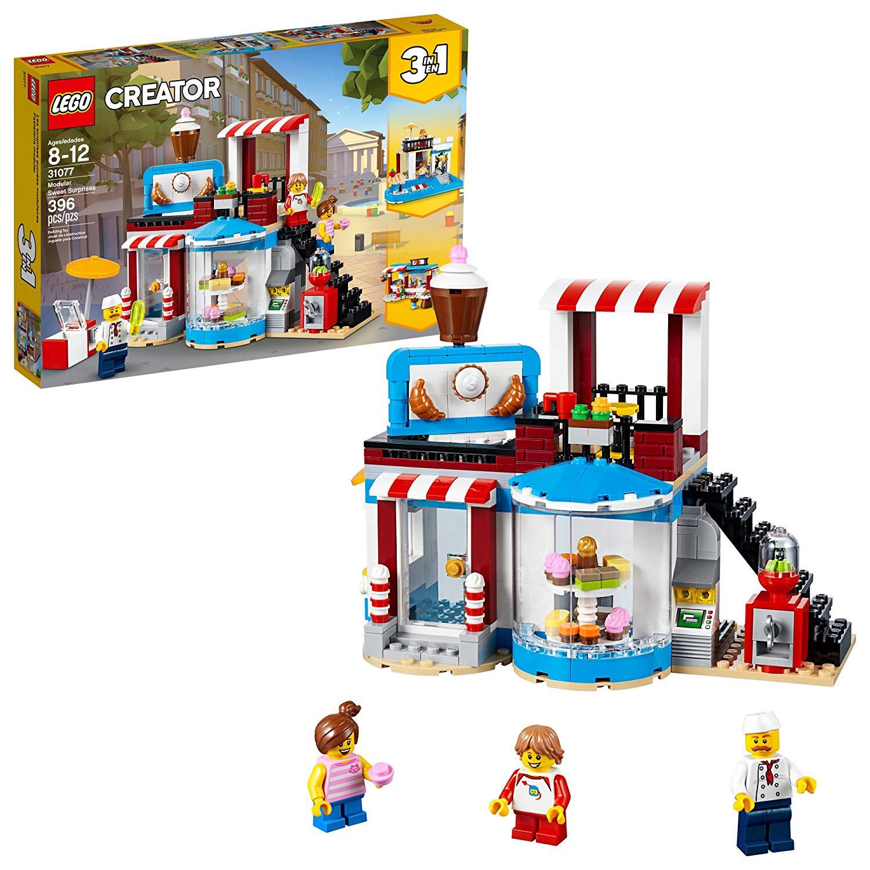 396-Piece LEGO Creator 3-In-1 Modular Sweet Surprises Building Kit $20 via Amazon/Target