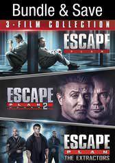 Escape Plan + Escape Plan 2: Hades + Escape Plan: The Extractors (4K UHD Digital Films) $10.99 via VUDU
