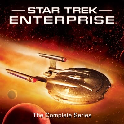 Digital HD TV Show: Star Trek: The Next Generation: The Complete Series $79.99 or Star Trek: Enterprise: The Complete Series $39.99 via Apple iTunes