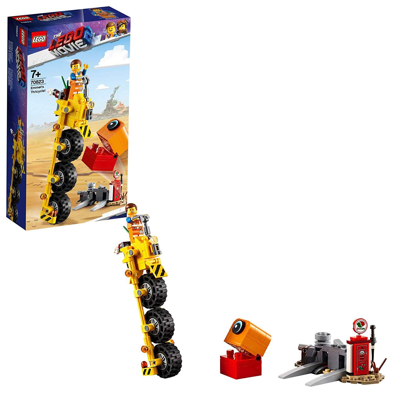 174-Piece LEGO: The LEGO Movie 2 Emmet's Thricycle Building Set $7.99 via Amazon/Walmart