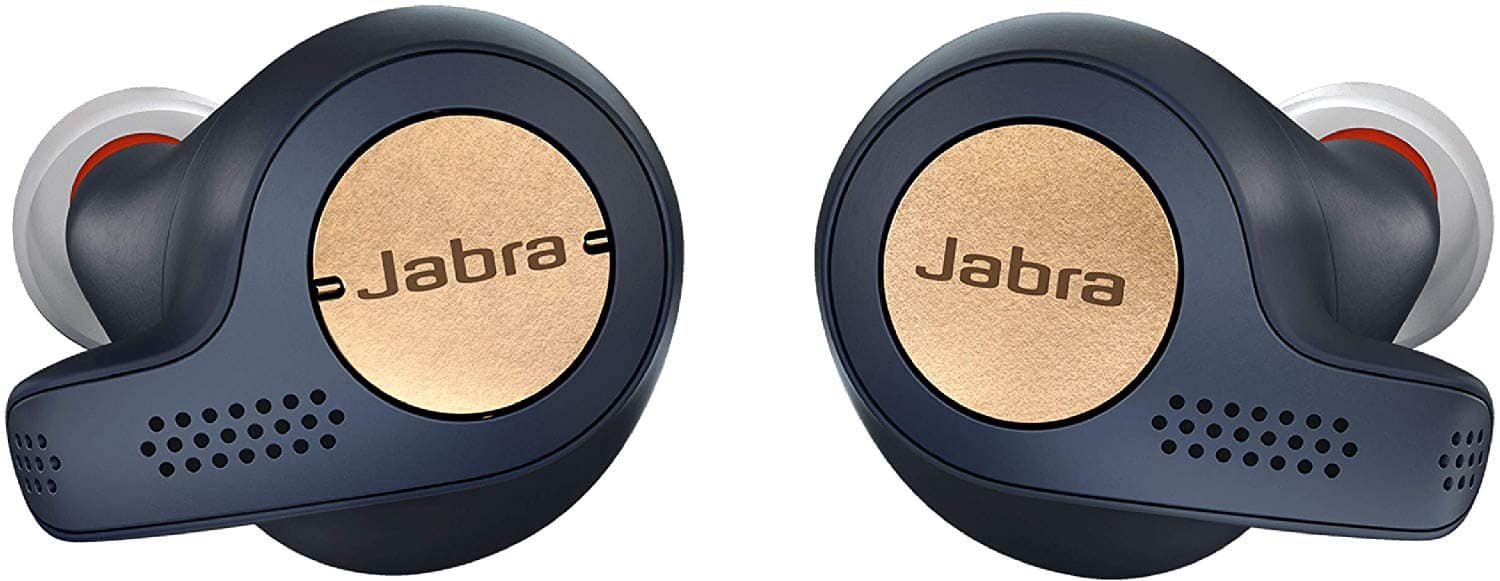 Amazon Warehouse Like New - Jabra Elite Active 65t Earbuds – True Wireless Earbuds with Charging Case, Copper Black – Bluetooth Earbuds with a Secure Fit and Superior Sound $59.13