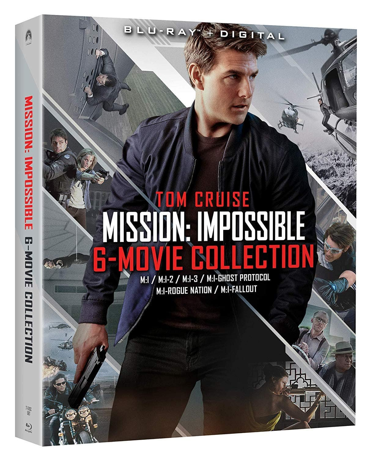 Mission: Impossible 6-Movie Collection (Blu-ray + Digital HD) $12.99 via Amazon