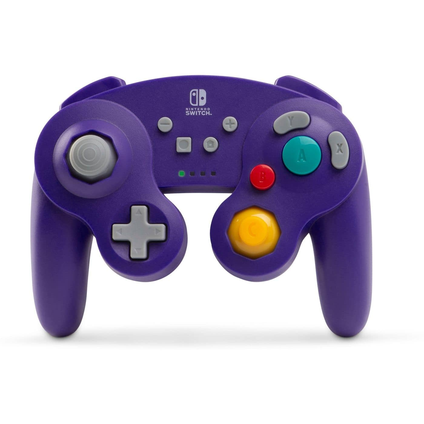 PowerA Wireless GameCube Controller for Nintendo Switch (Purple) $24.56 + Free Shipping
