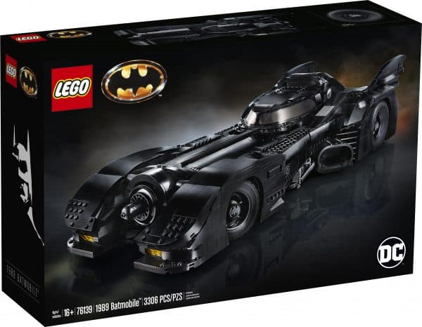 LEGO Building Sets: Extra 30% Off Select Sets: 1989 Batmobile Set $175 & More + Free S/H