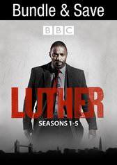 Luther: Complete Seasons 1-5 (Digital HDX TV Show) $21.99 via VUDU