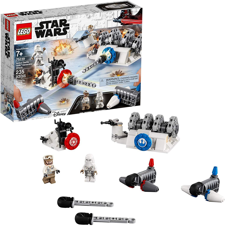 235-Piece LEGO Star Wars: The Empire Strikes Back Action Battle Hoth Generator Attack Building Set $17.99 via Walmart/Amazon