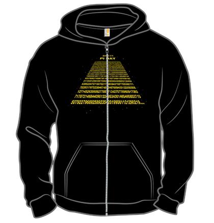 Woot Pi Day T-Shirts/Hoodies: Men's, Women's or Kids' (various design) $1 + Free S/H