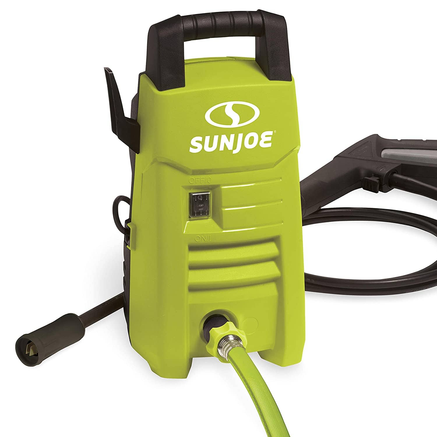Sun Joe SPX201E 1350 Max PSI 1.45 GPM 10-Amp Electric Pressure Washer (Green) $42.65 + Free Shipping via Amazon