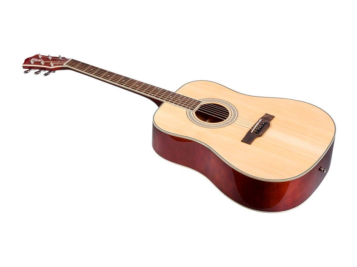 Monoprice Idyllwild Foothill Acoustic Guitar w/ Gig Bag (Natural or Vintage) $69.99 + Free Shipping via Monoprice