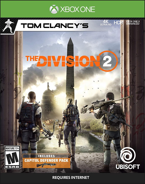 Tom Clancy's The Division 2 (Digital Xbox One Digital Code) $2.99 via Amazon