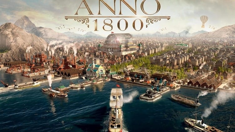Anno 1800 (PC Digital Download) + Free Mystery PCDD Game w/ Purchase $24.30 via Green Man Gaming